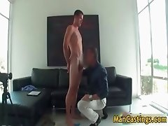 Sexy stud Mike sucks jizzster and gets part2