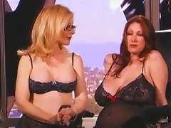 Nina Hartley Strapon Sex With A Babe