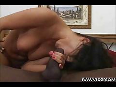 Big Black Dick On Brunette