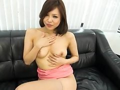 Hot Asian Babe Sucking
