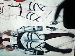 Shingeki no kyojin Mikasa tribute
