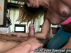 Milf sweet ass does anal  She eagerly sucks dick.