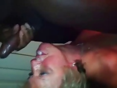 Husband Directs Wife As She Takes Black Dick..