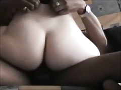 Cheating wife riding black cock