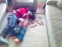 Teens Wrestle and fuck