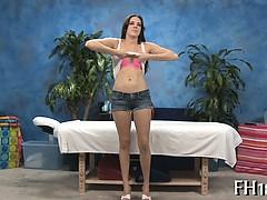 Gir receives an arse massage