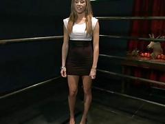 Hot pretty babe ass fucked