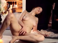 busty beata masturbating her pussy