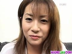 Ayumi Nakura hot cum feast!